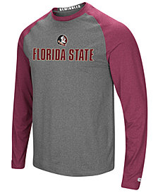 Colosseum Men's Florida State Seminoles Social Skills Long Sleeve Raglan Top