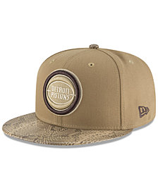 New Era Detroit Pistons Snakeskin Sleek 59FIFTY FITTED Cap