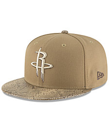 New Era Houston Rockets Snakeskin Sleek 59FIFTY FITTED Cap