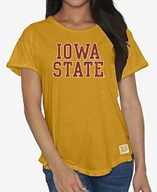 Retro Brand Women's Iowa State Cyclones Rolled Sleeve T-Shirt
