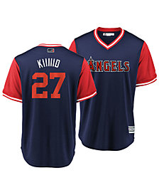 Majestic Men's Mike Trout Los Angeles Angels Players Weekend Replica Cool Base Jersey