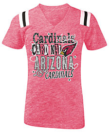 5th & Ocean Arizona Cardinals Football T-Shirt, Girls (4-16)