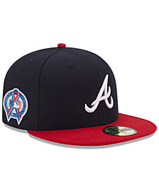 New Era Atlanta Braves 9-11 Memorial 59FIFTY FITTED Cap