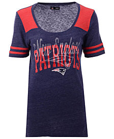 5th & Ocean Women's New England Patriots Circle Logo T-Shirt