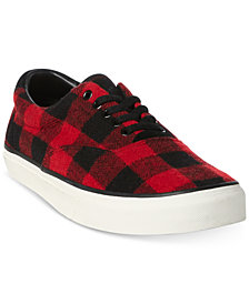 Polo Ralph Lauren Men's Thorton Check Sneakers