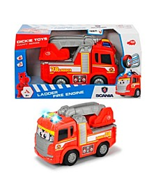 Dickie Toys - Happy Scania Fire Truck Pre-School Vehicle
