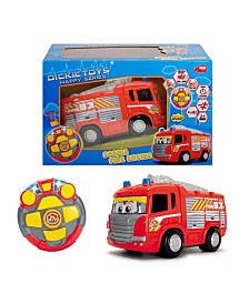 Dickie Toys - Remote Control Happy Fire Truck
