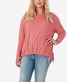 Jessica Simpson Trendy Plus Size Wendi Blouson Top
