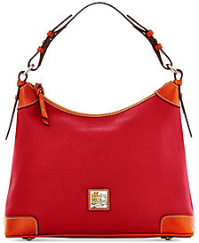 Dooney Bourke Pebble Leather Hobo