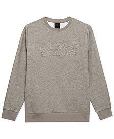 A|X Armani Exchange Men's Fleece Logo Sweatshirt
