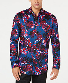 I.N.C. Men's Phoenix Floral-Print Shirt, Created for Macy's