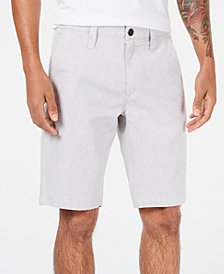 I.N.C. Men's Slim-Fit Flat-Front Shorts, Created for Macy's