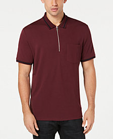 I.N.C. Men's Quarter-Zip Polo, Created for Macy's