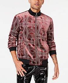 I.N.C. Men's Glitter Zolar Novelty Jacket, Created for Macy's
