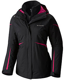 Columbia Blazing Star™ Waterproof Fleece-Lined Jacket