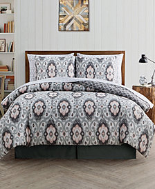 Nicola 8 Pc King Bed In A Bag