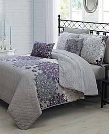 Amber 9 Pc Queen Quilt Set