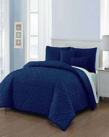 Del Ray 9 Pc Queen Bed In A Bag