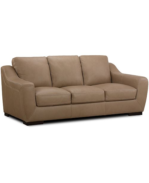 Gansey 91 Leather Sofa