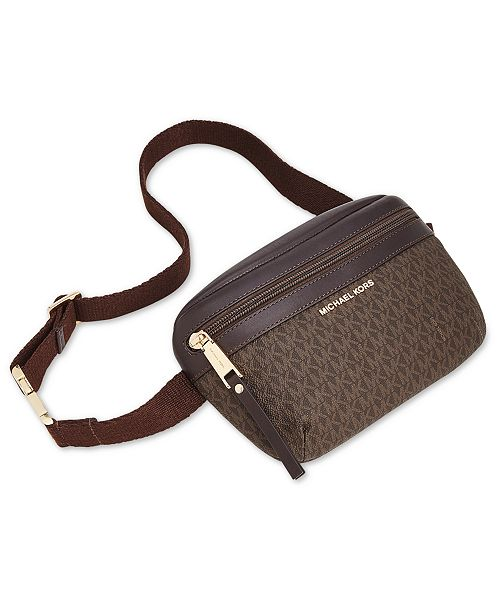 92f4803a588a11 Michael Kors Signature Fanny Pack, Created for Macy's & Reviews - Macy's