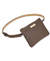 39bb21837e992e MICHAEL Michael Kors Signature Fanny Pack, Created for Macy's