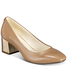 Anne Klein Whisp iFlex Block-Heel Pumps