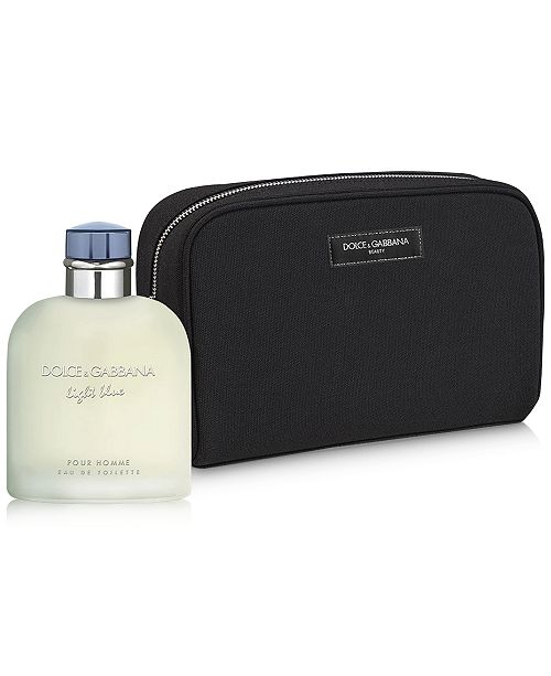 e0c1d021 Dolce & Gabbana DOLCE&GABBANA 2-Pc Light Blue Pour Homme Jumbo Gift Set, A