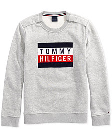 Tommy Hilfiger Adaptive Women's Electra Flag Sweatshirt with Magnetic Closures at Should