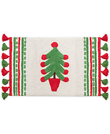 "Dena Festive Llama Cotton Tufted 20"" x 30"" Bath Rug"