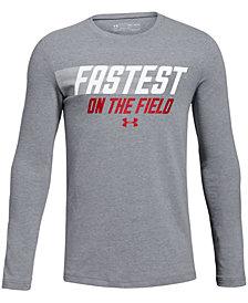 Under Armour Big Boys Fastest-Print T-Shirt