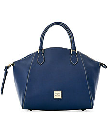 Dooney & Bourke Sydney Saffiano Leather Satchel