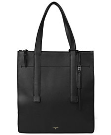 T Tahari Color & Black Tote