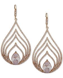 Jenny Packham Crystal Openwork Chandelier Earrings