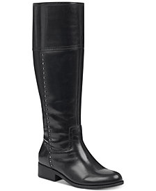 Marc Fisher Galaya  Wide Calf Studded Boots