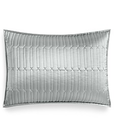Hotel Collection Lithos Quilted Standard Sham, Created for Macy's