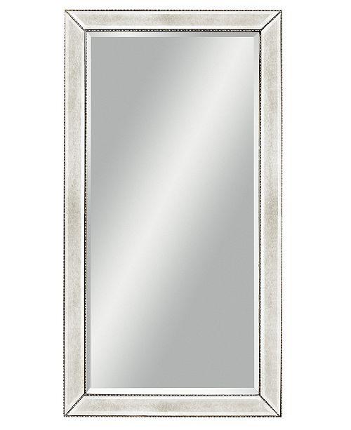 Furniture Marais Mirrored Floor Mirror - Furniture - Macy\'s