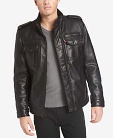 Levi's® Men's Faux Leather Utility Jacket