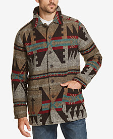 Weatherproof Vintage Men's Aztec Wool Jacket