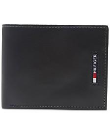 Men's Slim Extra-Capacity Leather Wallet