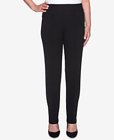 Alfred Dunner Sutton Place Pull-On Slim-Fit Pants