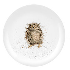 "Portmeirion Wrendale Owl Plate ""What a Hoot"" - Set of 4"