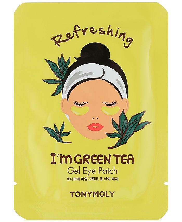 TONYMOLY - I'm Green Tea Gel Eye Patch