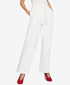BCBGMAXAZRIA Pleated Wide-Leg Pants