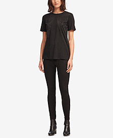 DKNY Crew-Neck Top, Created for Macy's