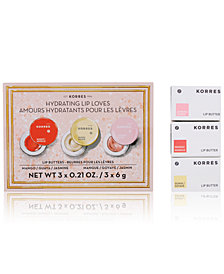 Korres 3-Pc. Hydrating Lip Loves Set