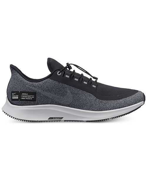 dd4228e1a0c8 Nike Men s Air Zoom Pegasus 35 Shield Running Sneakers from Finish ...