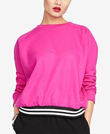 RACHEL Rachel Roy Yasmin Crossback Sweatshirt, Created for Macy's