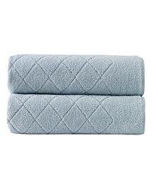 Enchante Home Gracious 2-Pc. Bath Sheets Turkish Cotton Towel Set