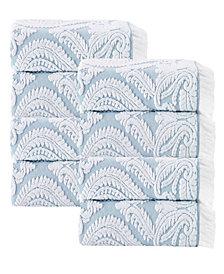 Enchante Home Laina 8-Pc. Turkish Cotton Hand Towel Set