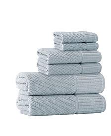 Enchante Home Timaru 6-Pc. Turkish Cotton Towel Set